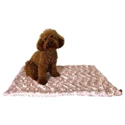 Blush Bella Minkie Binkie Blanket