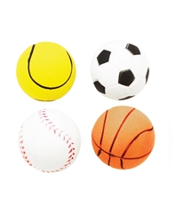 Rubber Sports Ball 4 pack