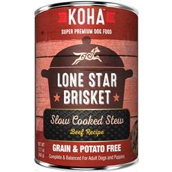 KOHA Lone Star Brisket Slow Cooked Stew - 12.7oz Cans