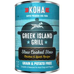 KOHA Greek Island Grill Slow Cooked Stew - 12.7oz Cans