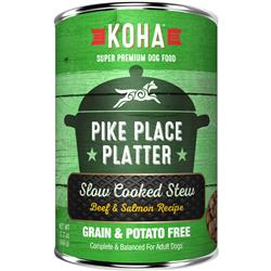 KOHA Pike Place Platter Slow Cooked Stew - 12.7oz Cans