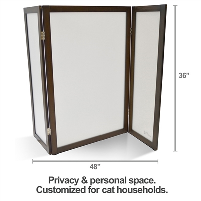 ModestCat Litter Box Hideaway - Privacy Screen