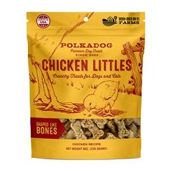 Chicken Littles Bone Shaped treats by Polka Dog