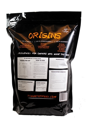 Origins 5 In 1 Canine Supplement - 2lb Bag