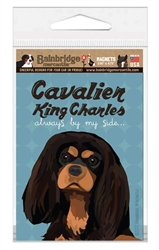 "Cavalier King Charles (Black & Tan) Magnet - 3.56"" x 4.75"""