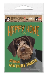 """German Wirehaired Pointer Magnet - 3.56"""" x 4.75"""""""
