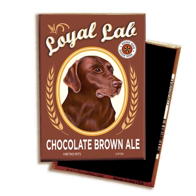 Chocolate Lab - Chocolate Brown Ale MAGNETS