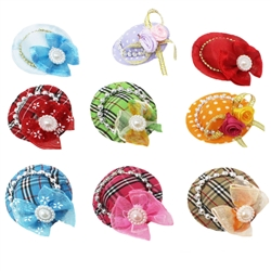 35 pc Hat Bow with Clip - Assorted Colors