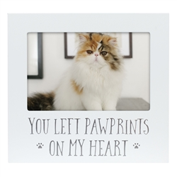Pawprints On My Heart Pet Frame