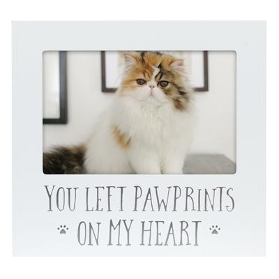 Pawprints On My Heart Pet Frame