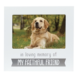 In Loving Memory Pet Frame