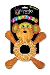 Spunky Pup Wibbleez Round Monkey