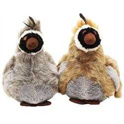 Plush Wild Birds w/ Squeaker