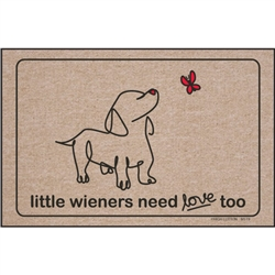 Little Wieners Need Love Too - Doormat
