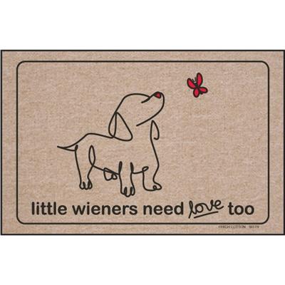 Little Wieners Need Love Too - Doormat