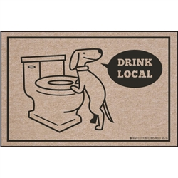 Drink Local - Doormat