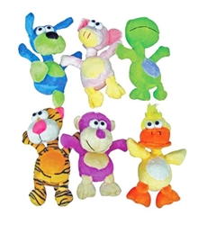 Plush Colorful Characters