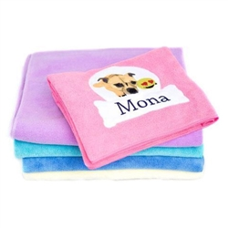 Customized Dog Towels