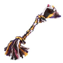 Medium Multi- Color Rope Bone