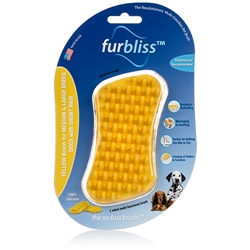 Furbliss - Brush for medium & large breed dogs with short hair