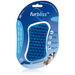 Furbliss - Brush for small breed dog, cats & pets with short hair