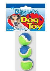 "Mini 1.5"" Tennis Balls - 3 pack"