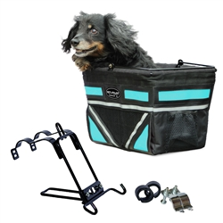 2020 Model Pet Pilot bicycle basket for dogs - 8 Color Options **Sturdy Bike Basket**