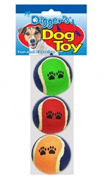 """Squeaky 2.5"""" Balls - 3 Pack"""
