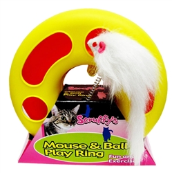 Scruffy's Mouse Ball Play Ring
