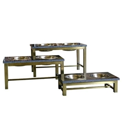 Mercer, Antique Brass Feeding Table