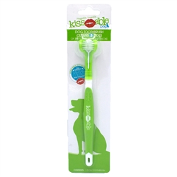 Kissable 3-Head Toothbrush for Dogs