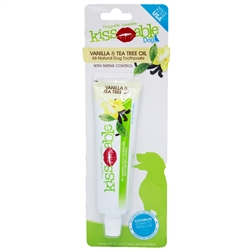 Kissable Toothpaste for Dogs in Vanilla