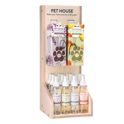 Pet House Room Spray Counter Display
