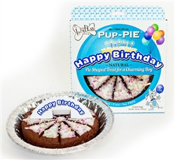 "Happy Birthday Charming Boy 6"" Pup-PIE (Case of 8) by Lazy Dog"