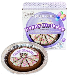 "The Lazy Dog - Happy Birthday 6"" Pup-PIE (Case of 8)"