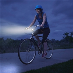 White Radiant 50 Bike Light - 50 Lumens