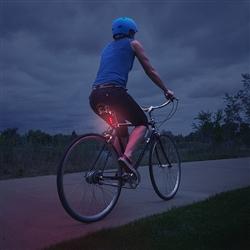 Red Radiant 50 Bike Light - 15 Lumens