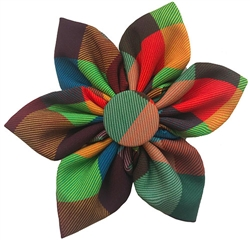 Fall Check Pinwheel by Huxley & Kent
