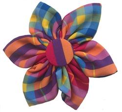 Pink Madras Pinwheel by Huxley & Kent