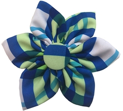 Lime Madras Pinwheel by Huxley & Kent