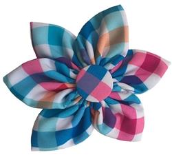 Huxley & Kent Blue Green Pinwheel