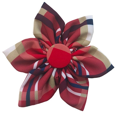 Red Madras Pinwheel by Huxley & Kent
