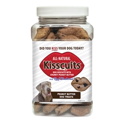 Kisscuits by Larry's Leftovers - 16oz. Pinch-Grip Jar (New and Improved!)