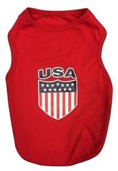 USA Tank Red
