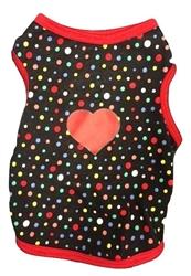 Polka Dot Heart Tank