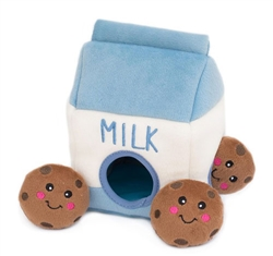 Zippy Paws - Zippy Paws Burrow Milk and Cookies