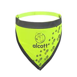 Visibility Dog Bandana - Neon Yellow