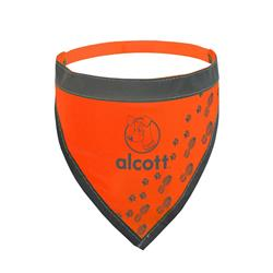 Visibility Dog Bandana - Neon Orange