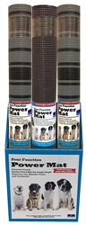 Dogs Rock Dog Power Mat - 6-piece Merchandiser (3 Black & White & 3 Chocolate)