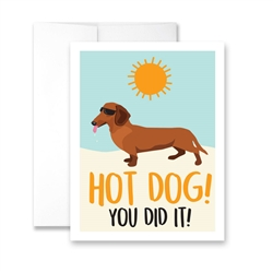 Hot Dog! You Did It! - Pack of 6 cards